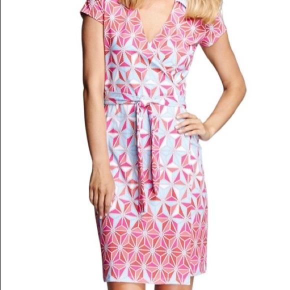 NWT J McLaughlin wrap dress